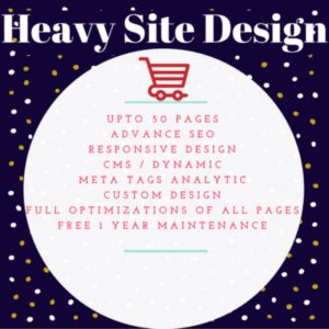 Heavy Site Design
