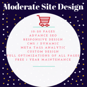 Moderate Site Design
